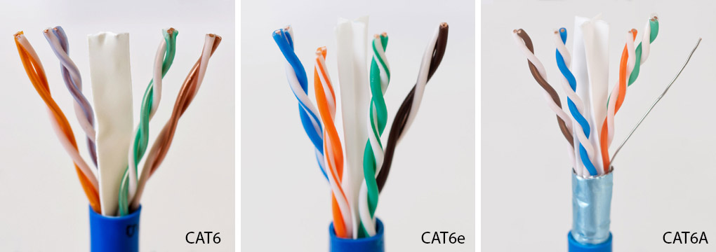 Differences Between Cat6 Cat6e, Wiring Cat 6